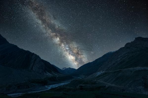 Milkyway Spiti Valley